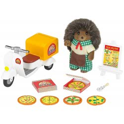 Epoch THE SYLVANIAN FAMILIES - PIZZA DELIVERY SET 5238 5054131052389