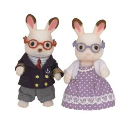 Epoch The Sylvanian Families - Chocolate Rabbit Grandparents 5190 5054131051900