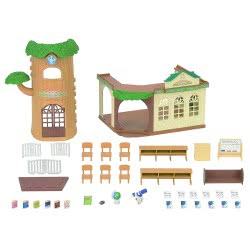 Epoch THE SYLVANIAN FAMILIES - COUNTRY TREE SCHOOL 5105 5054131051054