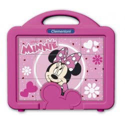 Clementoni Παζλ Κύβοι 12τεμ Disney Minnie Mouse 1100-41340 8005125413409