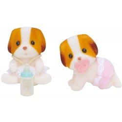 Epoch The Sylvanian Families - Chiffon Dog Twins 5083 5054131050835