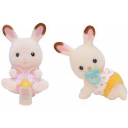 Epoch The Sylvanian Families - Chocolate Rabbit Twins 5080 5054131050804