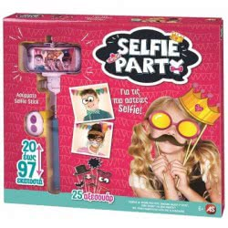 As company Selfie Πάρτυ - Σετ φωτογραφίας 1080-21000 5203068210007
