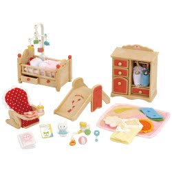 Epoch THE SYLVANIAN FAMILIES - BABY ROOM SET 5036 5054131050361