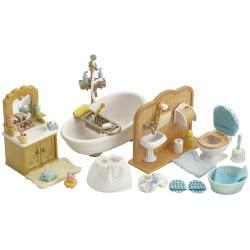 Epoch The Sylvanian Families - Country Bathroom Set 5034 5054131050347
