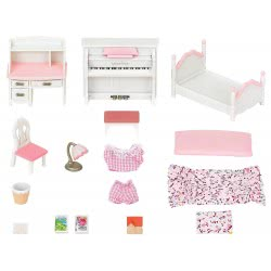 Epoch The Sylvanian Families - Girls Bedroom Set 5032 5054131050323