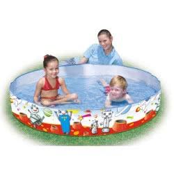 Bestway Spacebotz Fill'n'fun Above Ground Pool 152X25εκ.  55021 6942138950755