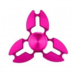 OEM Fidget_Spinner_Claw_Cropper_Tri_Spinner_Hot_Pink_Aluminium_Edc_Allloy 4 Minutes HS-09 9021099551649