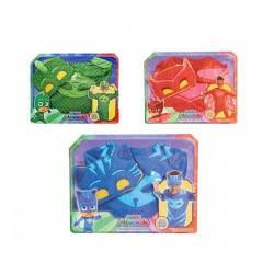 GIOCHI PREZIOSI Pj Masks Πιτζαμοήρωες Στολή Blister – 3 Σχέδια PJM07000 8056379027461