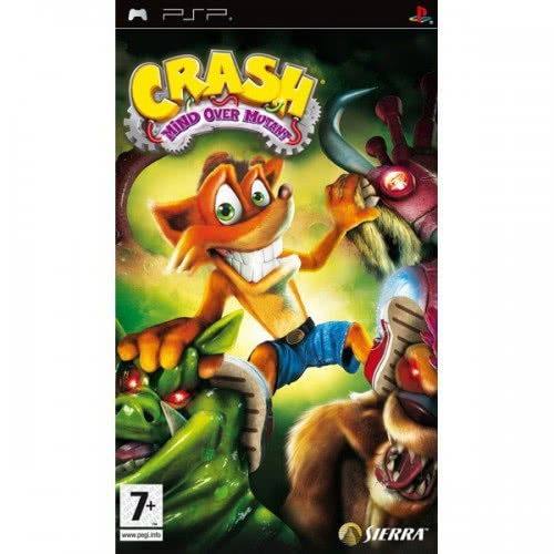 Activision PSP CRASH MIND OVER MUTANT 5030917096068 5030917096068