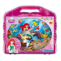 Clementoni Jigsaw Puzzle - 24 Cubes : The Little Mermaid 1100-42421 8005125424214