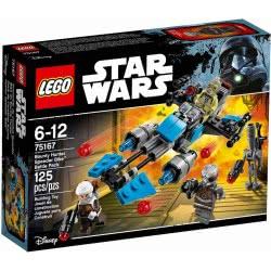 LEGO Star Wars Bounty Hunter Speeder Bike 75167 5702015866842