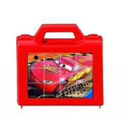 Ravensburger Κύβοι WD Cars (12τ) 05-07489 4005556074891