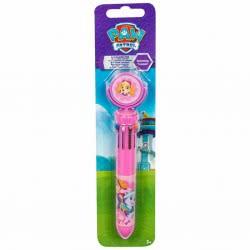 Sambro Paw Patrol Skye Στυλό 10 Χρωμάτων Με Κίνηση E-PWP9-6199 5055114359556