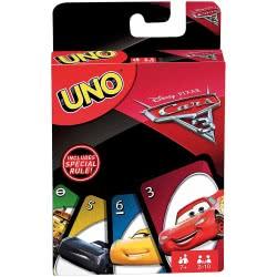 Mattel UNO CARS 3 FDJ15 887961469684