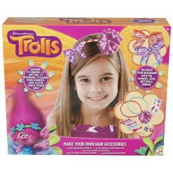 Group Operation Trolls Make Your Own Hair Accessories E-TRO-2062 5055114340196