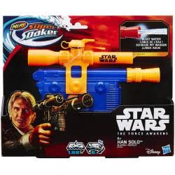 Hasbro Nerf Super Soaker Star Wars Han Solo Blaster B4439 5010994933173