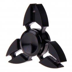 Toys-shop D.I Fidget Spinner Μεταλλική Λουλούδι Three Leaves 4 Minutes - 3 Σχέδια JK088284 5221275906780