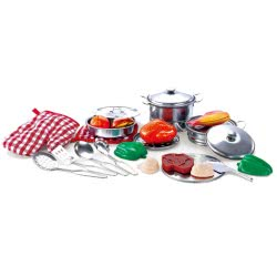 Toys-shop D.I Yingdi Toys Stainless Steel Kitchen Set JU037242 6990317372423