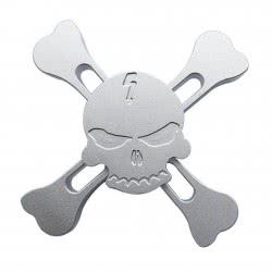 Toys-shop D.I FIDGET SPINNER ΜΕΤΑΛΛΙΚΗ PIRATES SKULL 4 LEAVES 4 MINUTES - 4 ΣΧΕΔΙΑ JK088285 5221275906803