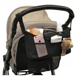 just baby Βοηθητικό Τσαντάκι Καροτσιού Μαύρο JB-160-BLACK 5221275906643