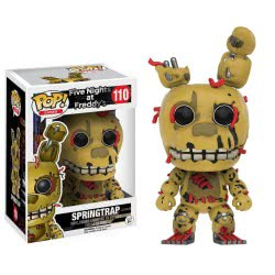 Funko POP! GAMES: FIVE NIGHTS AT FREDDYS-SPRINGTRAP 027346 889698110334