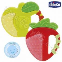 Chicco Κρίκος Οδοντοφυΐας Φράουλα Και Μήλο 4M+ C05-02579-00 8003670747178