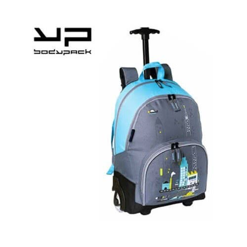 Bodypack BDPACK ΣΑΚΙΔΙΟ ΤΡΟΛΕΥ CITY PARK ΜΕ ΦΩΤΙΖΟΜΕΝΑ ΡΟΔΑΚΙΑ-ΑΓΟΡΙ 205.21302 3291230213026