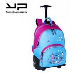 Bodypack Bdpack Σακίδιο Trolley City Park Με Φωτιζόμενα Ροδάκια - Κορίτσι 205.21301 3291230213019