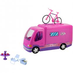 GLOBO Donna Camper Fashion Doll With Accessories 34433 8014966344339