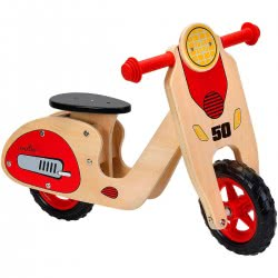 GLOBO Legnoland Το Πρώτο Μου Ξύλινο Μοτοποδήλατο Ισορροπίας 37723 8014966377238