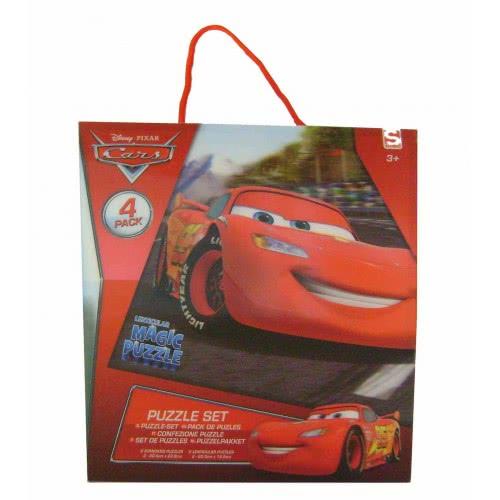 Group Operation DISNEY CARS 3D PUZZLE 4X24pieces E-DSC-5597 5055114315927