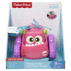 Fisher-Price Press 'N Go Οχηματάκια DRG16 / ASST 887961333275