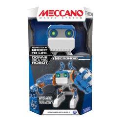 MECCANO Ρομπότ Micronoid Μπλε με ΔΩΡΟ ΛΑΜΠΑΔΑ TOY.MEC.00054