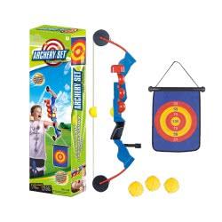 Toys-shop D.I Yingdi Toys Τόξο Σετ Με Στόχο Κρεμαστό Και Μπαλάκια JS049280 6990317492800
