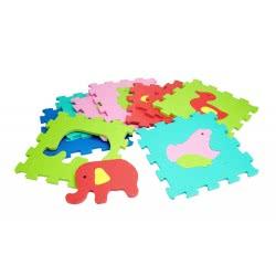 GLOBO VITAMINA-G ANIMALS PUZZLE MATS 32x32, 9PCS 05095 8014966050957