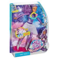 Mattel Barbie Star Light Adventure Lights & Sounds Hoverboarder Περιπέτεια Του Διαστήμα DLT23 887961266917