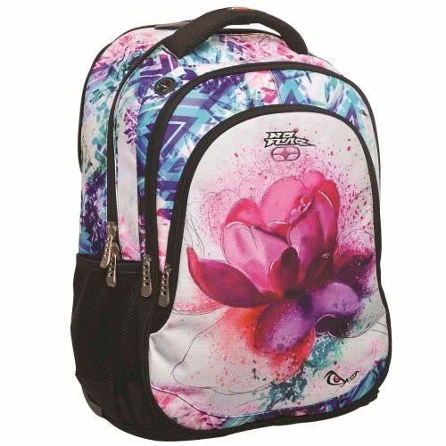 41b017ad1c5 NO FEAR ANGRY FLOWER PRIMARY SCHOOL OVAL BACKPACK 347-05031 5204549099227