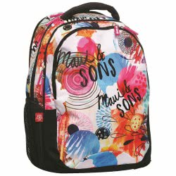 Maui and sons Maui Round Flowers Primary School Bag 339-64031 5204549099708