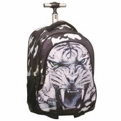 NO FEAR Tiger Σχολικό Σακίδιο Trolley Δημοτικού 341-31074 5204549099524