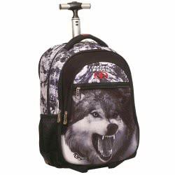 NO FEAR Wolf Σχολικό Trolley Δημοτικού 347-32074 5204549099579