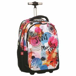 Maui and sons Maui Round Flowers Primary School Trolley 339-64074 5204549099715