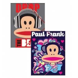 GIM Paul Frank Folder With Rubber A4 - 346-50510 5204549103290
