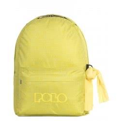 POLO Σακίδιο Πλάτης Double Scarf Τζιν Χρώμα Κίτρινο 901235-97 5201927096601