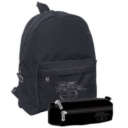 NO FEAR Backpack With Pencil Case Classy Black 347-14033 5204549093744