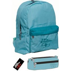NO FEAR Backpack With Pencil Case Classy Petrol 347-17033 5204549093805