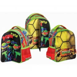 GIM Kindergarten Backpack Ninja Power Turtle 334-08054 5204549098923