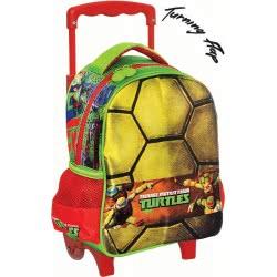 GIM Trolley-Τσάντα Νηπιαγωγείου Οβάλ Χελωνονιντζάκια Ninja Power Turtle 334-08072 5204549098930