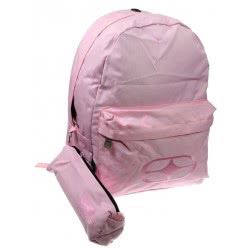 NO FEAR Backpack With Pencil Case Classy Pink 347-36033 5204549102439