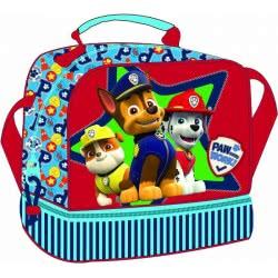 GIM Oval Food Bag Paw Patrol Boy 334-17720 5204549102798